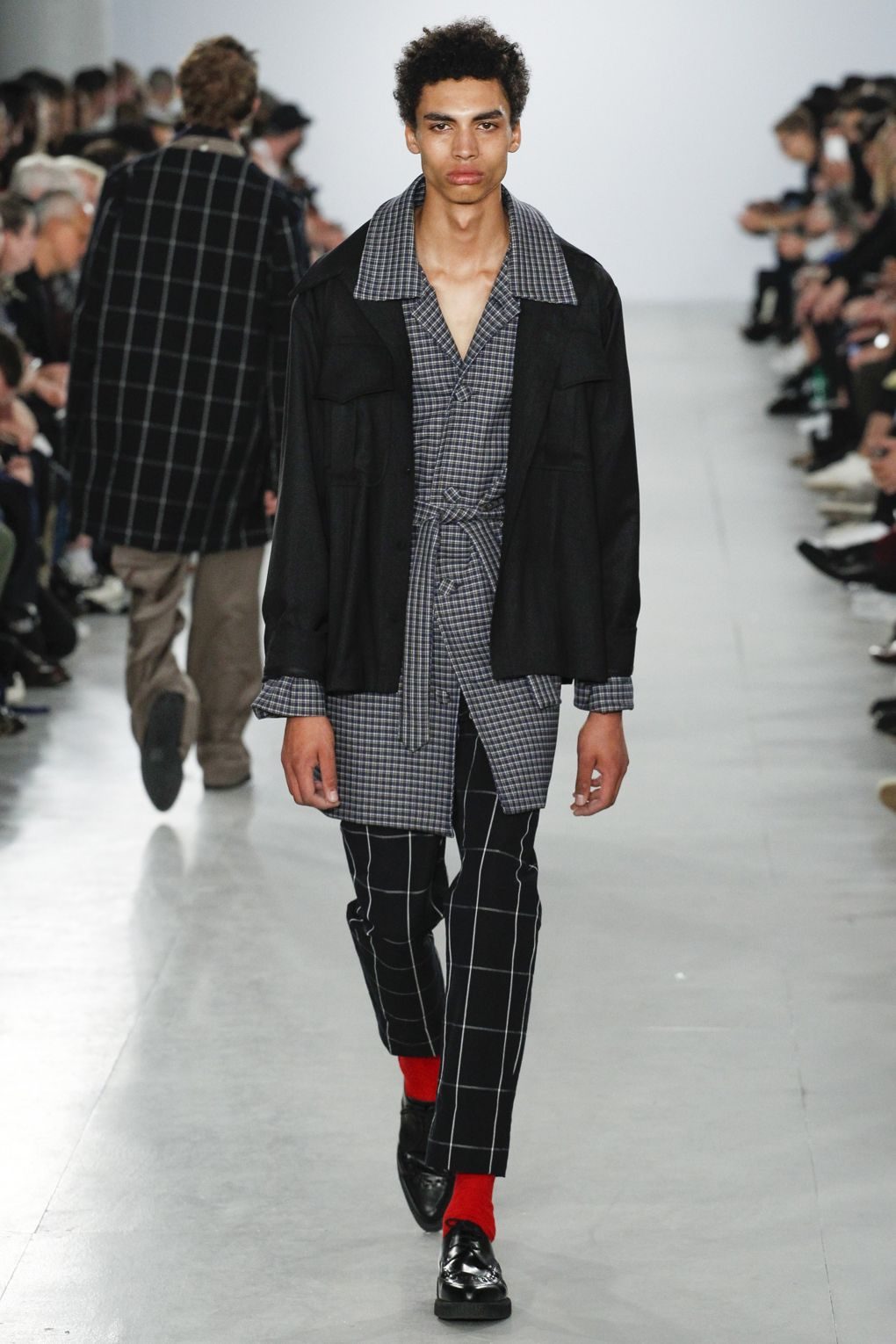 Agi and Sam London Fashion Week Men's Spring Summer 2017 - Sagaboi - Look 30