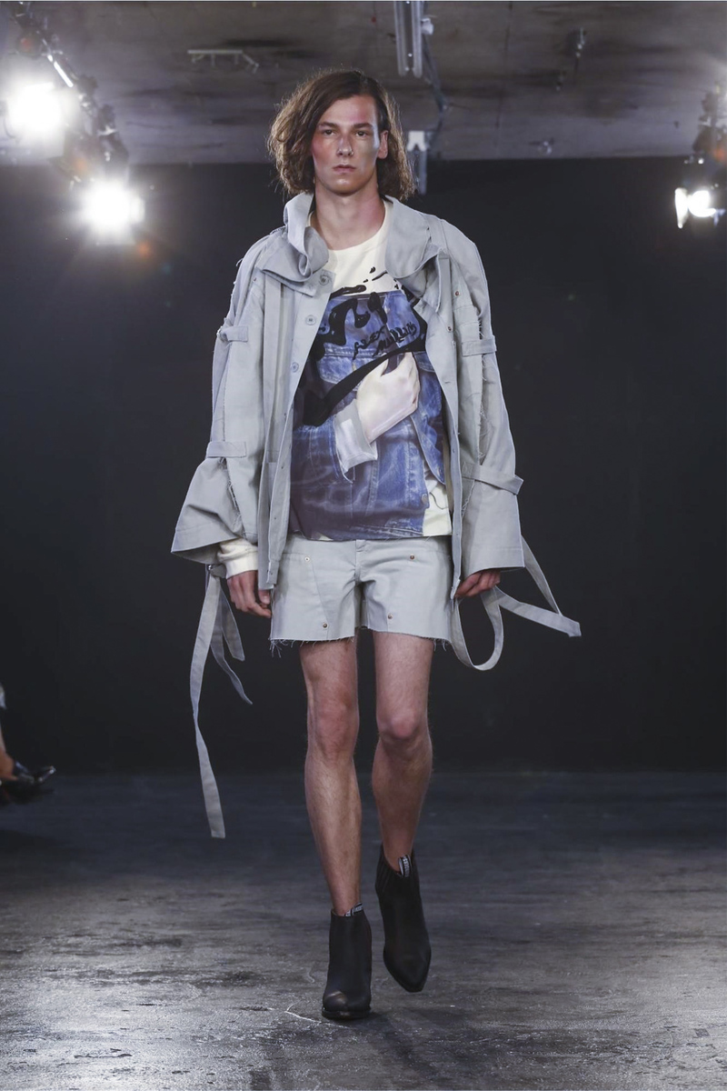 Alex Mullins London Fashion Week Men's Spring Summer 2017 - Sagaboi - Look 11