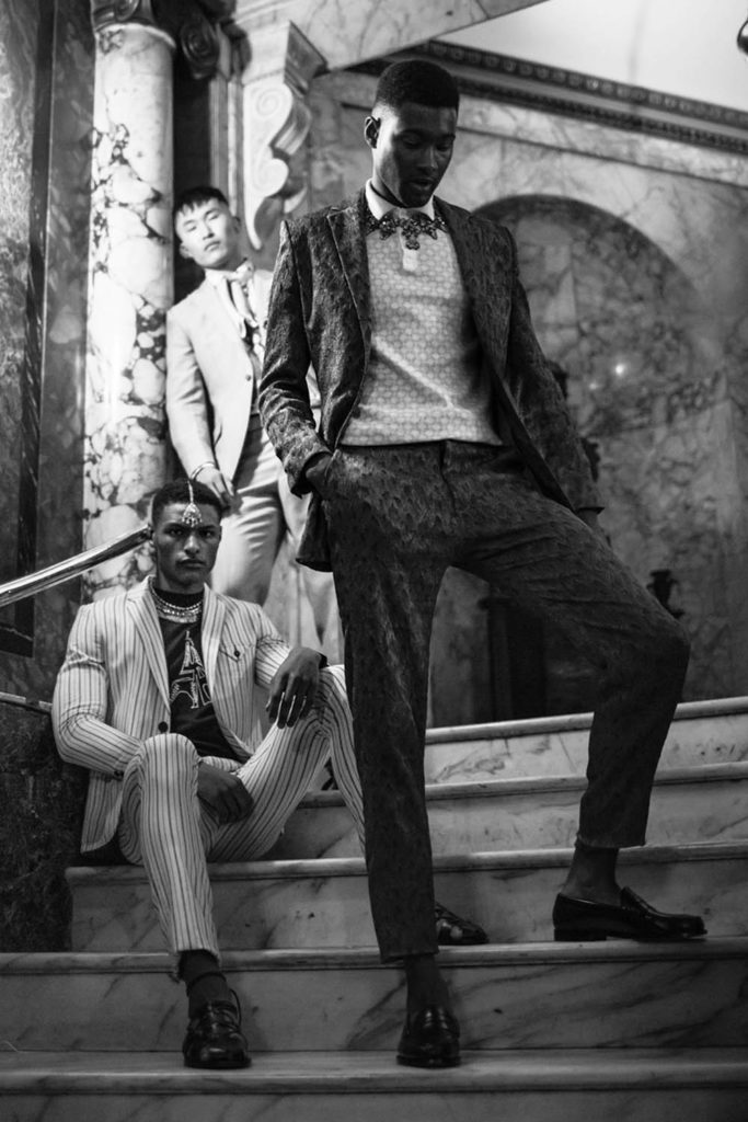 Jourdan Copeland, Shawn Golominigi and Telmen Dorj by Alexander English for Sagaboi