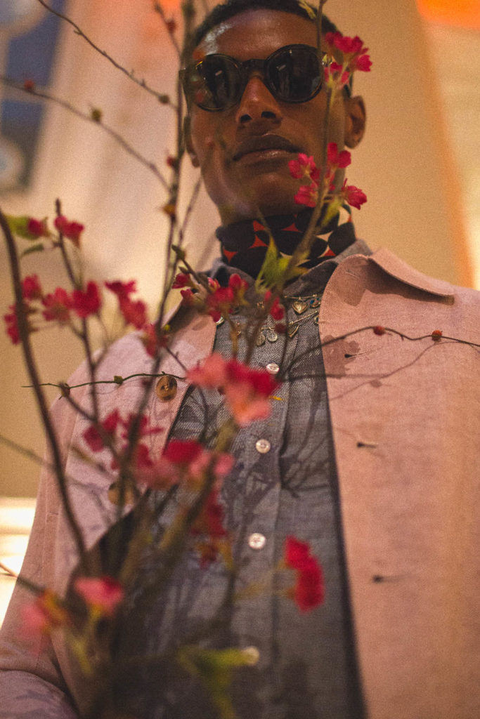 Shawn Golomingi photographed by Alexander English for Sagaboi (Styled by Men's Styled