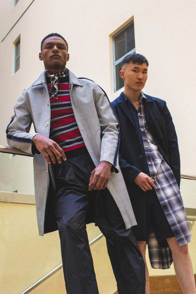 Shawn Golomingi and Telmen Dorj photographed by Alexander English for Sagaboi (Styled by Men's Styled)