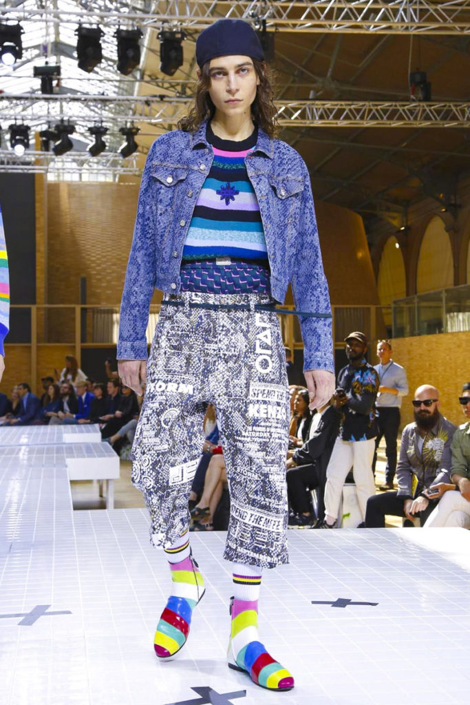 Kenzo Paris Fashion Week Spring Summer 2017 - Sagaboi - Look 31