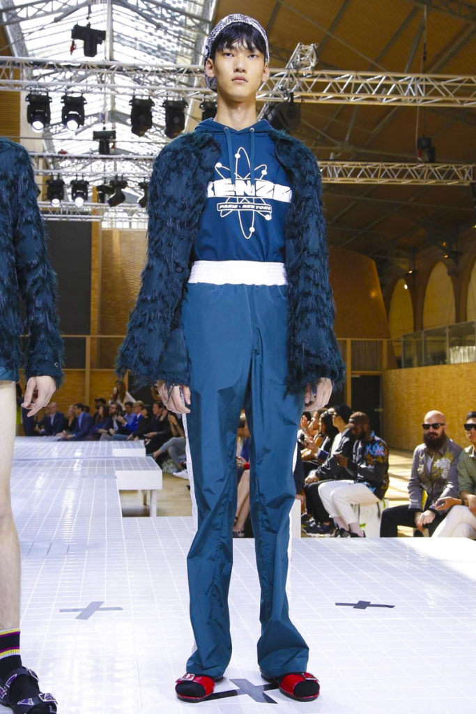 Kenzo Paris Fashion Week Spring Summer 2017 - Sagaboi - Look 38