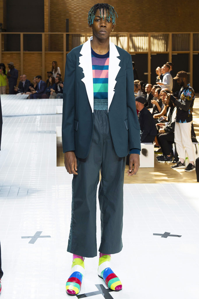 Kenzo Paris Fashion Week Spring Summer 2017 - Sagaboi - Look 43