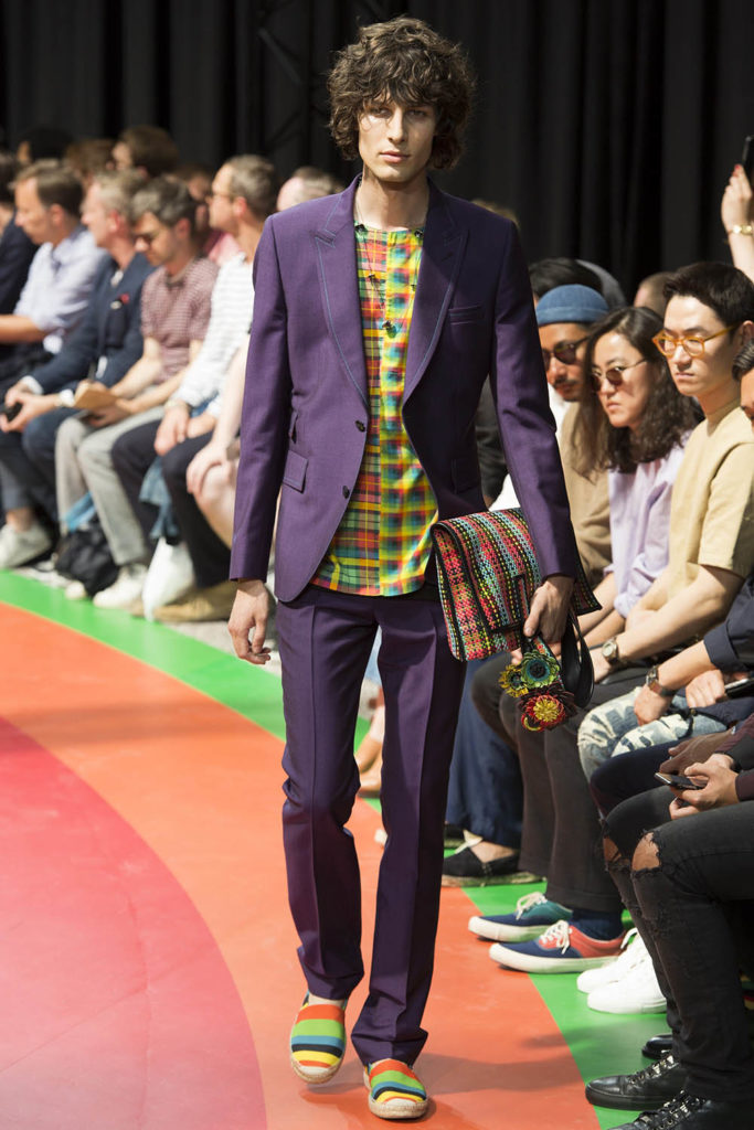 Paul Smith Paris Fashion Week Spring Summer 2017 - Sagaboi - Look 11