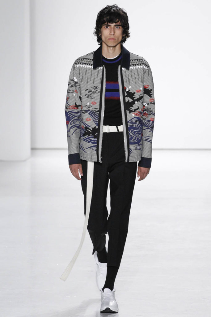 Tim Coppens New York Fashion Week Spring Summer 2017 - Sagaboi - Look 3