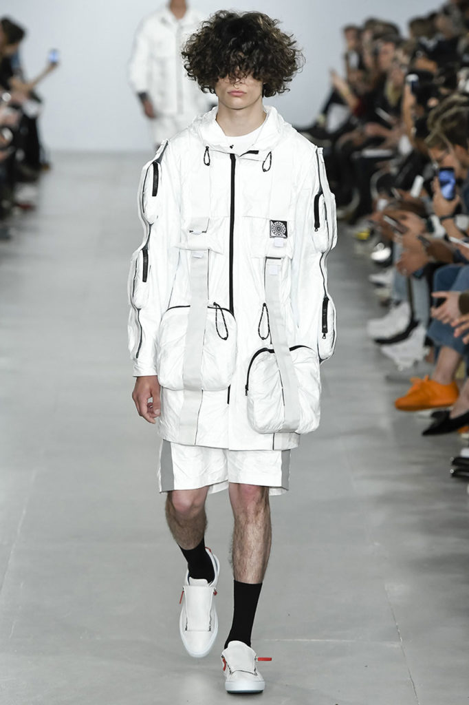 Christopher Raeburn London Fashion Week Men's Spring Summer 2017 - Sagaboi - Look 1
