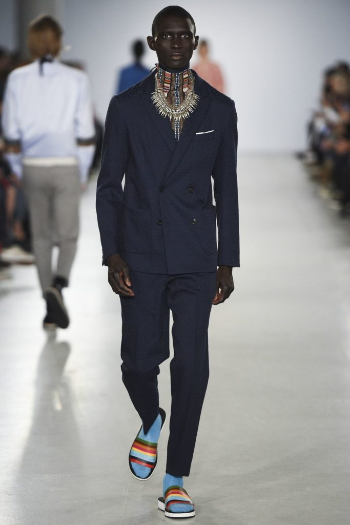 Casely Hayford London Fashion Week Men's Spring Summer 2017 - Sagaboi - Look 3