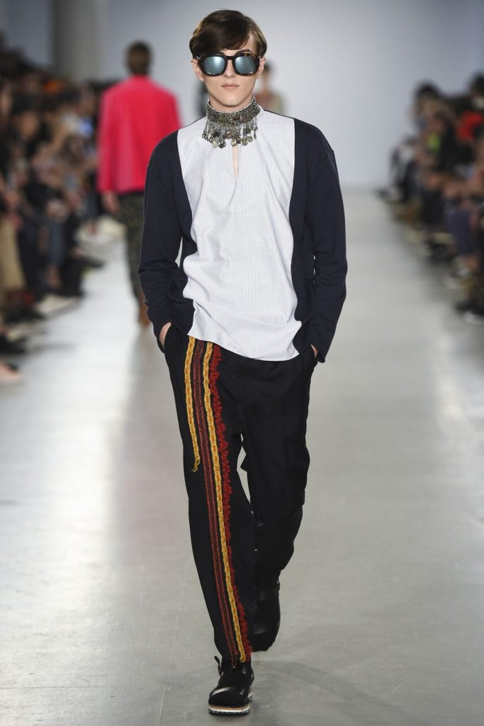 Casely Hayford London Fashion Week Men's Spring Summer 2017 - Sagaboi - Look 8