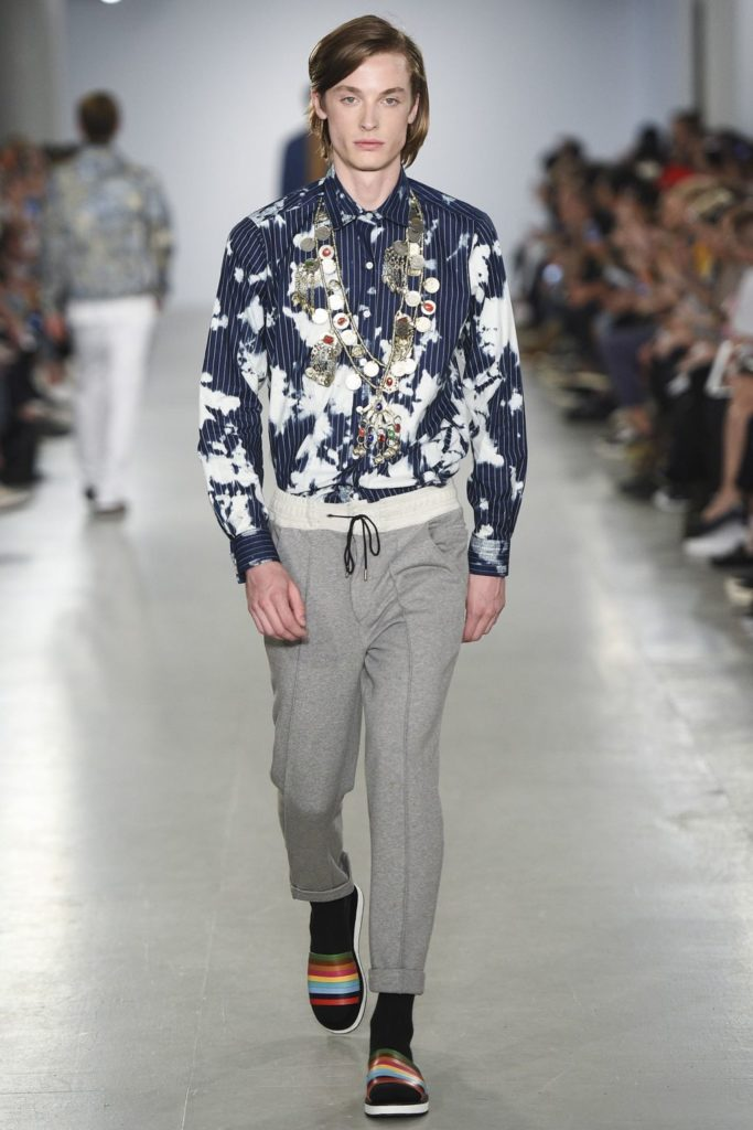 Casely Hayford London Fashion Week Men's Spring Summer 2017 - Sagaboi - Look 15