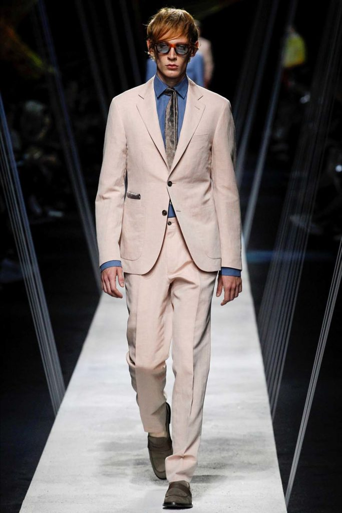 Canali – Milan Fashion Week - Spring Summer 2017 - Men's Fashion Shows - Look 02