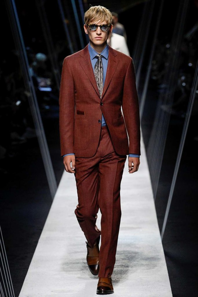 Canali – Milan Fashion Week - Spring Summer 2017 - Men's Fashion Shows - Look 07