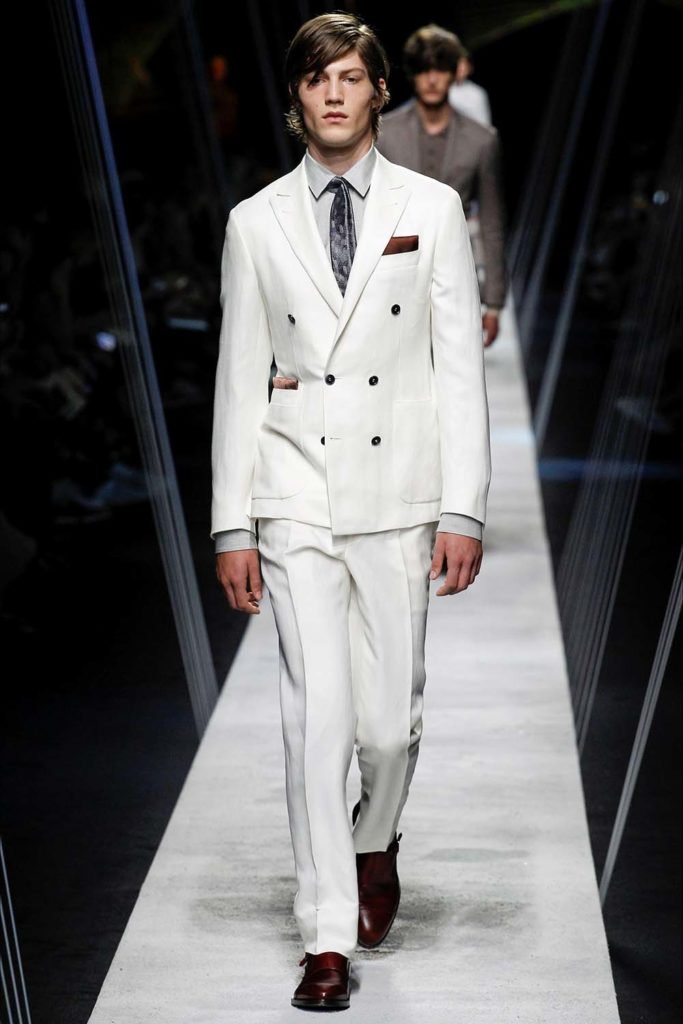 Canali – Milan Fashion Week - Spring Summer 2017 - Men's Fashion Shows - Look 12