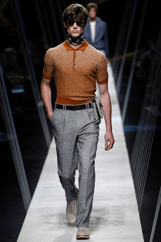 Canali – Milan Fashion Week - Spring Summer 2017 - Men's Fashion Shows - Look 24
