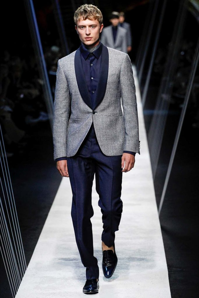Canali – Milan Fashion Week - Spring Summer 2017 - Men's Fashion Show - Look 38