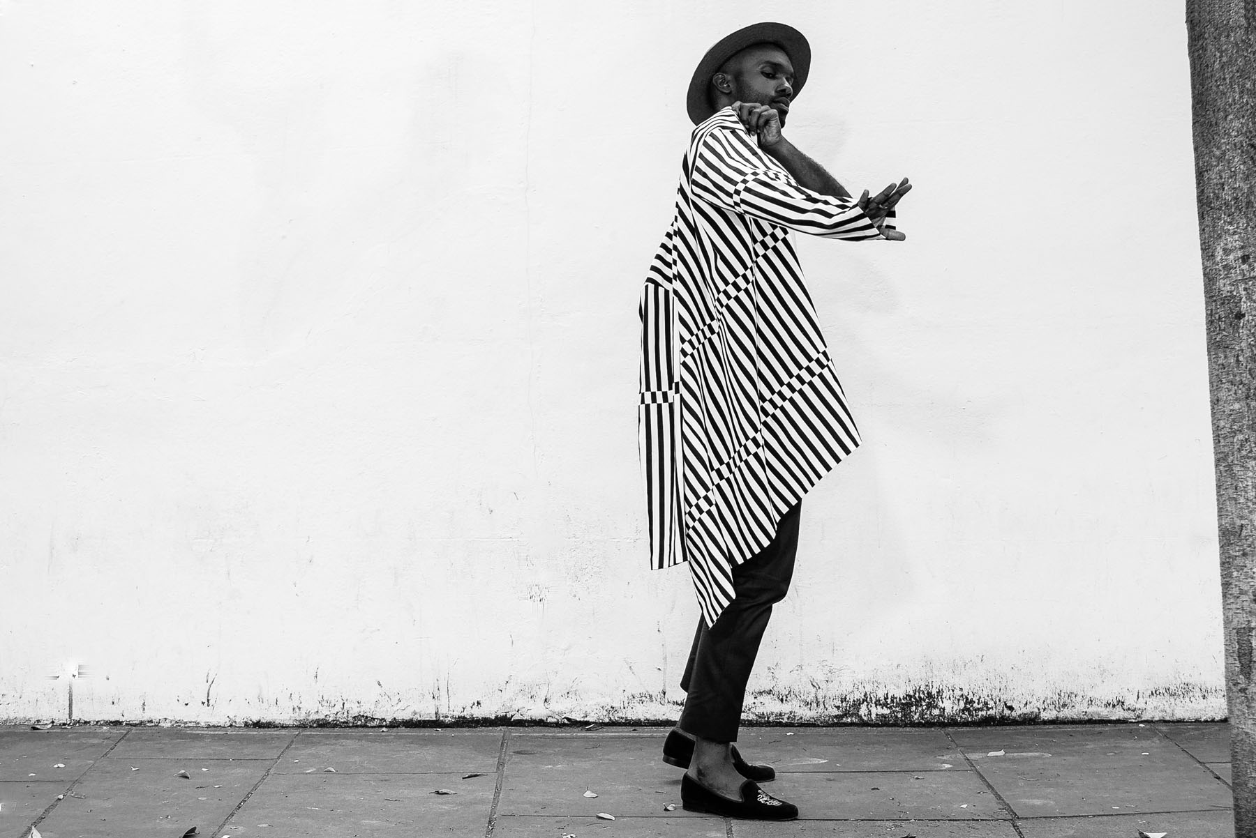 Geoff K. Cooper (Street Style Look) photographed by Michael Mapp