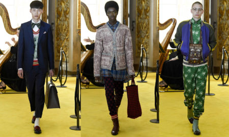 Gucci Cruise (Resort) 2018 Fashion Show at the Palatina Gallery in Florence's Pitti Palace in Italy - Feature image for Sagaboi fashion show review.