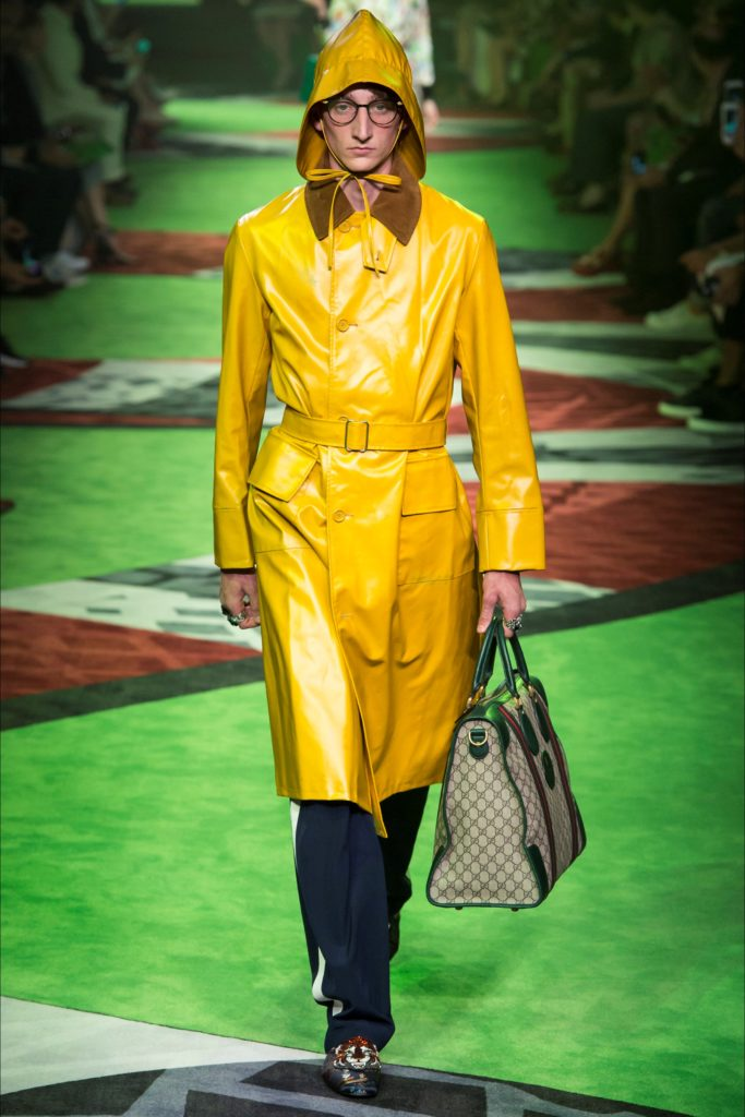Gucci Milan Fashion Week Spring Summer 2017 - Sagaboi - Look 10