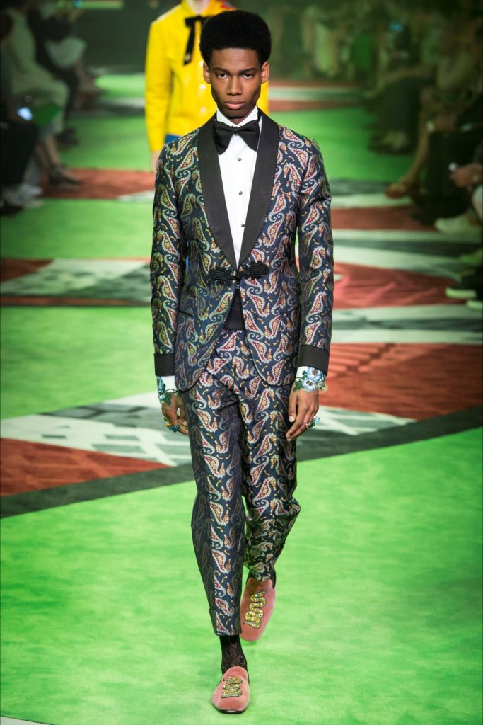 Gucci Milan Fashion Week Spring Summer 2017 - Sagaboi - Look 25