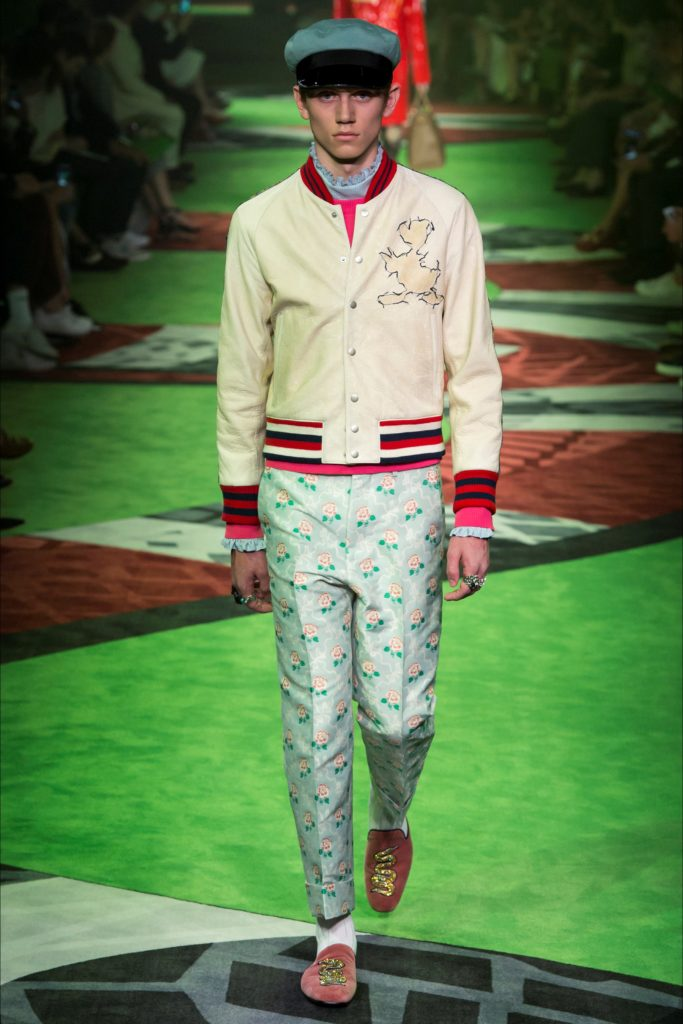 Gucci Milan Fashion Week Spring Summer 2017 - Sagaboi - Look 35