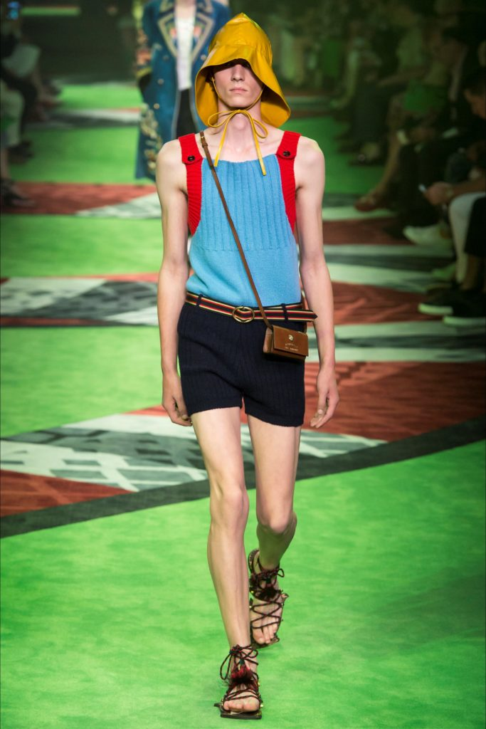 Gucci Milan Fashion Week Spring Summer 2017 - Sagaboi - Look 38