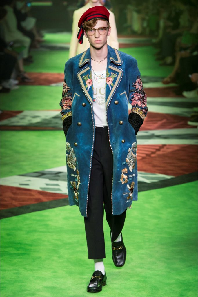 Gucci Milan Fashion Week Spring Summer 2017 - Sagaboi - Look 39