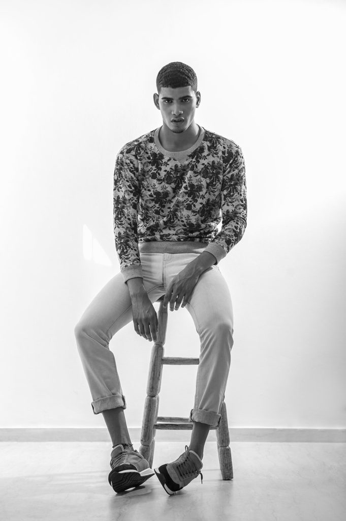 Rafael Perez photographed by Yael Duval for Sagaboi
