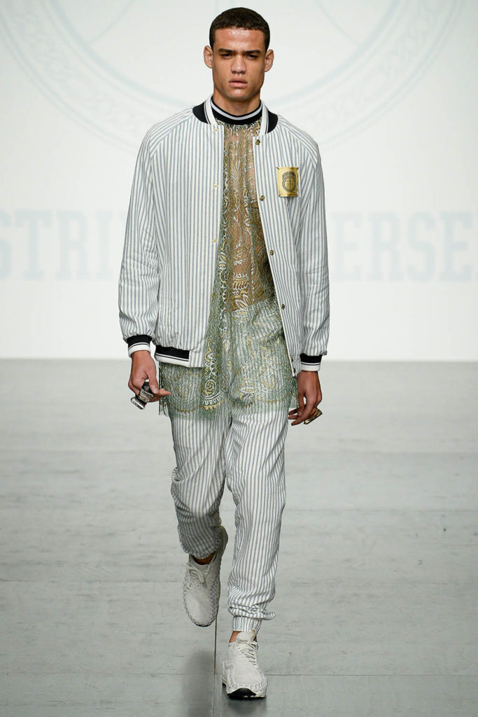 Astrid Andersen London Fashion Week Men's Spring Summer 2018 - Sagaboi - Look 11