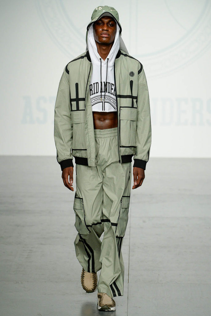 Astrid Andersen London Fashion Week Men's Spring Summer 2018 - Sagaboi - Look 12