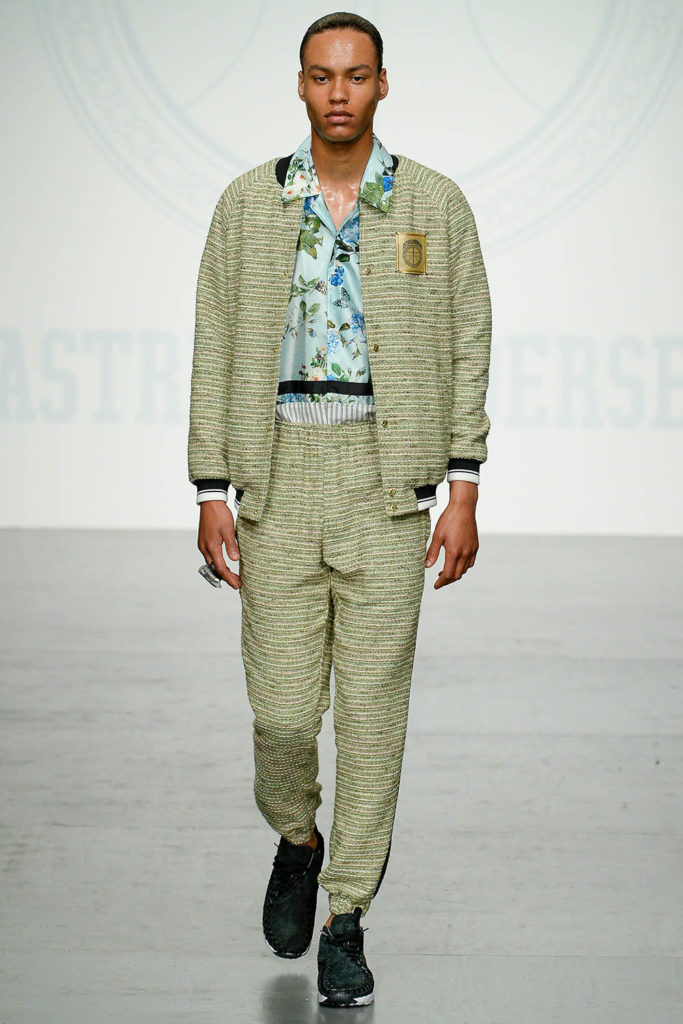Astrid Andersen London Fashion Week Men's Spring Summer 2018 - Sagaboi - Look 13