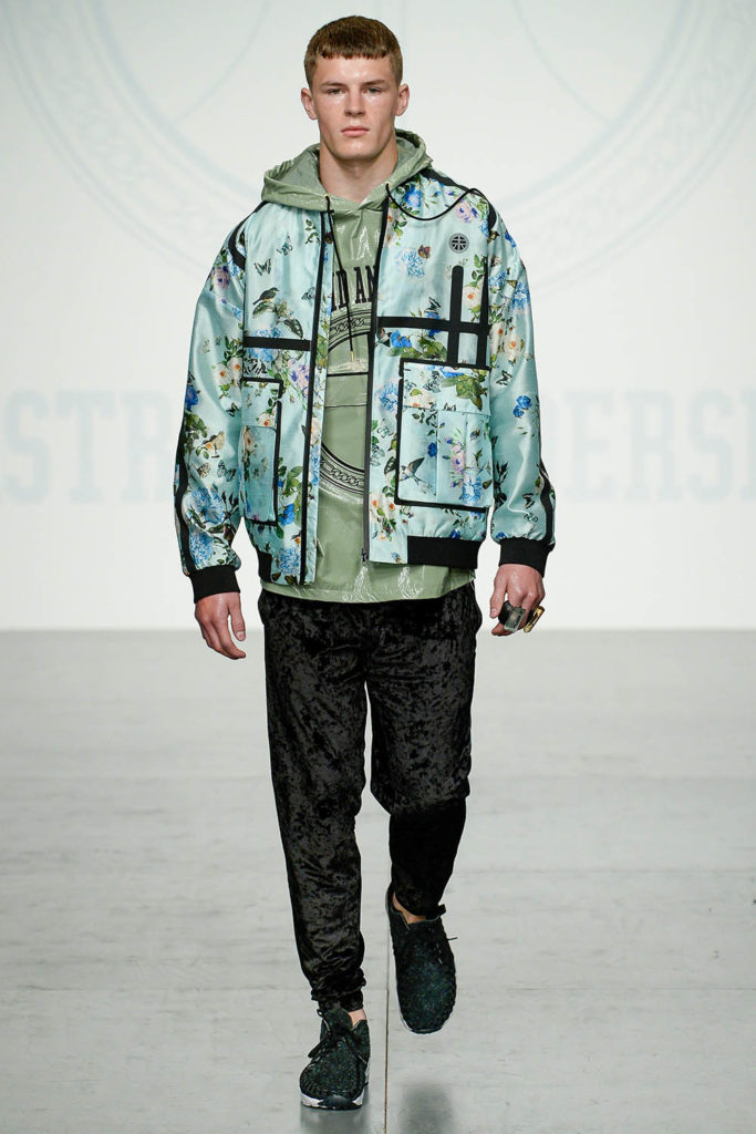 Astrid Andersen London Fashion Week Men's Spring Summer 2018 - Sagaboi - Look 14