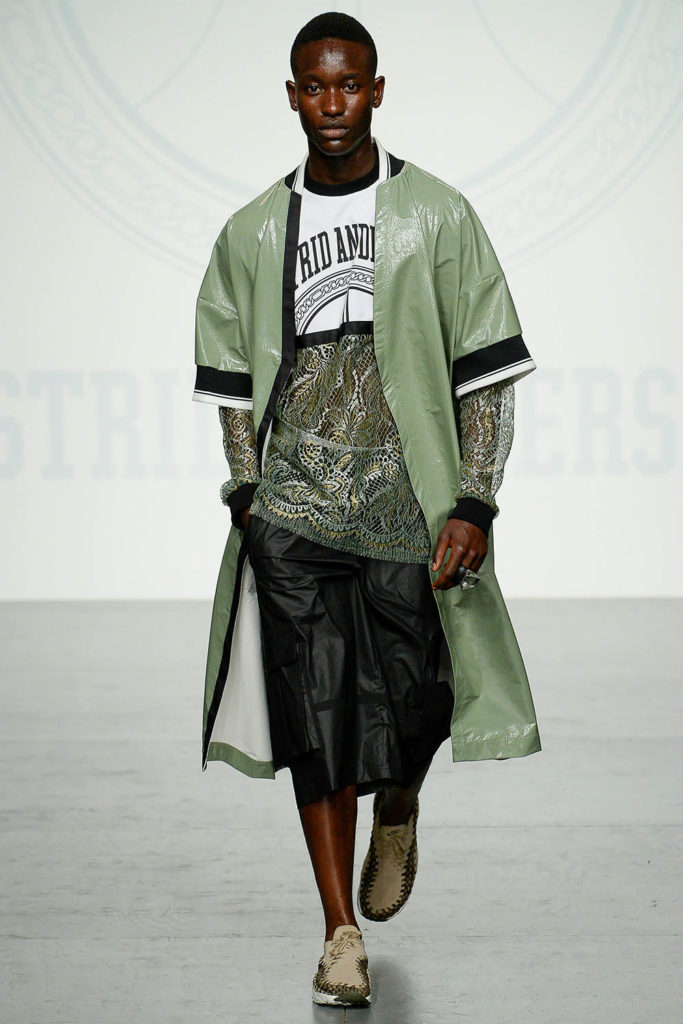 Astrid Andersen London Fashion Week Men's Spring Summer 2018 - Sagaboi - Look 15