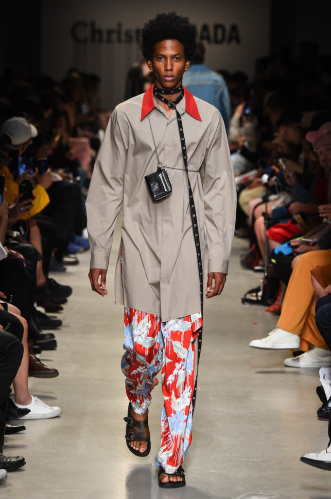 Christian Dada Paris Fashion Week Men's Spring Summer 2018 - Sagaboi - Look 24