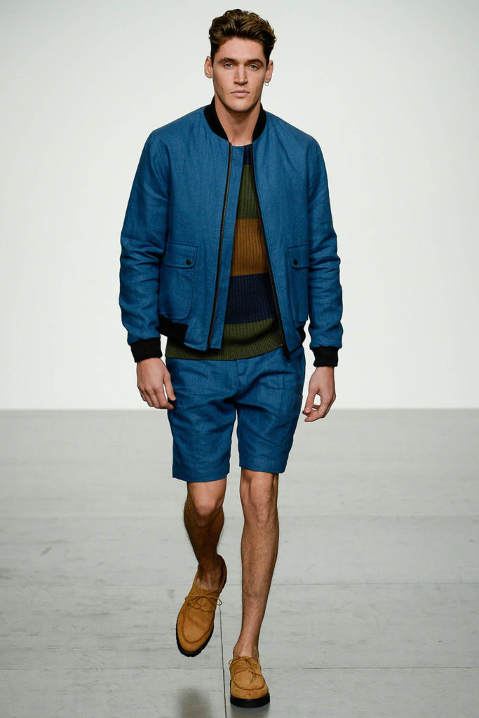 Oliver Spencer London Fashion Week Men's Spring Summer 2018 - Sagaboi - Look 29