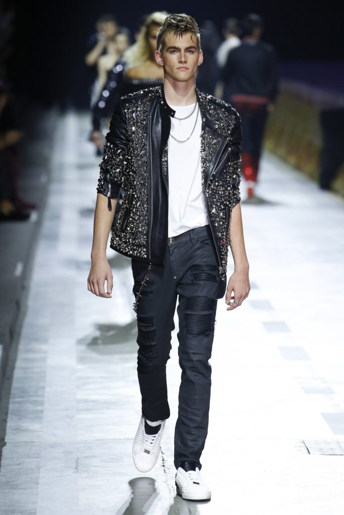 Philipp Plein Milan Fashion Week Men's Spring Summer 2018 - Sagaboi - Look 19
