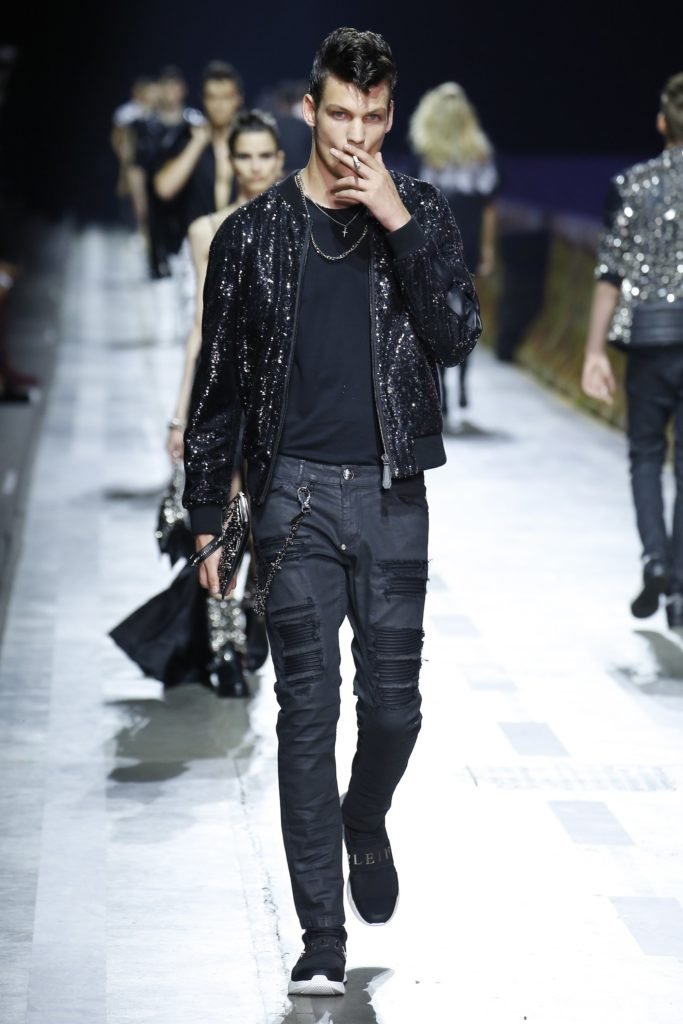 Philipp Plein Milan Fashion Week Men's Spring Summer 2018 - Sagaboi - Look 21