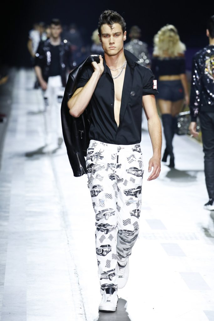 Philipp Plein Milan Fashion Week Men's Spring Summer 2018 - Sagaboi - Look 23