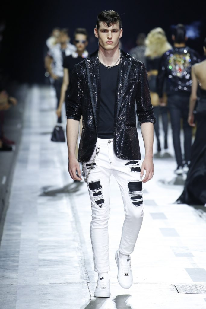 Philipp Plein Milan Fashion Week Men's Spring Summer 2018 - Sagaboi - Look 24