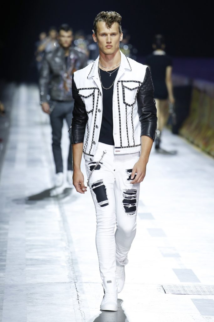 Philipp Plein Milan Fashion Week Men's Spring Summer 2018 - Sagaboi - Look 28