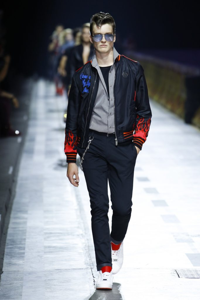 Philipp Plein Milan Fashion Week Men's Spring Summer 2018 - Sagaboi - Look 3