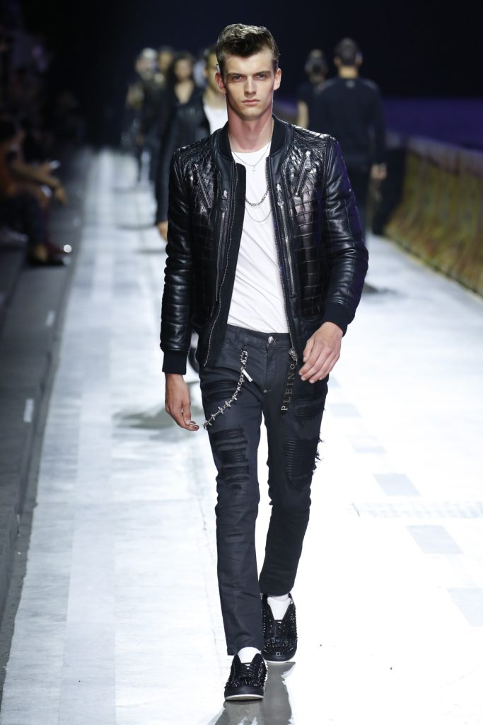 Philipp Plein Milan Fashion Week Men's Spring Summer 2018 - Sagaboi - Look 37