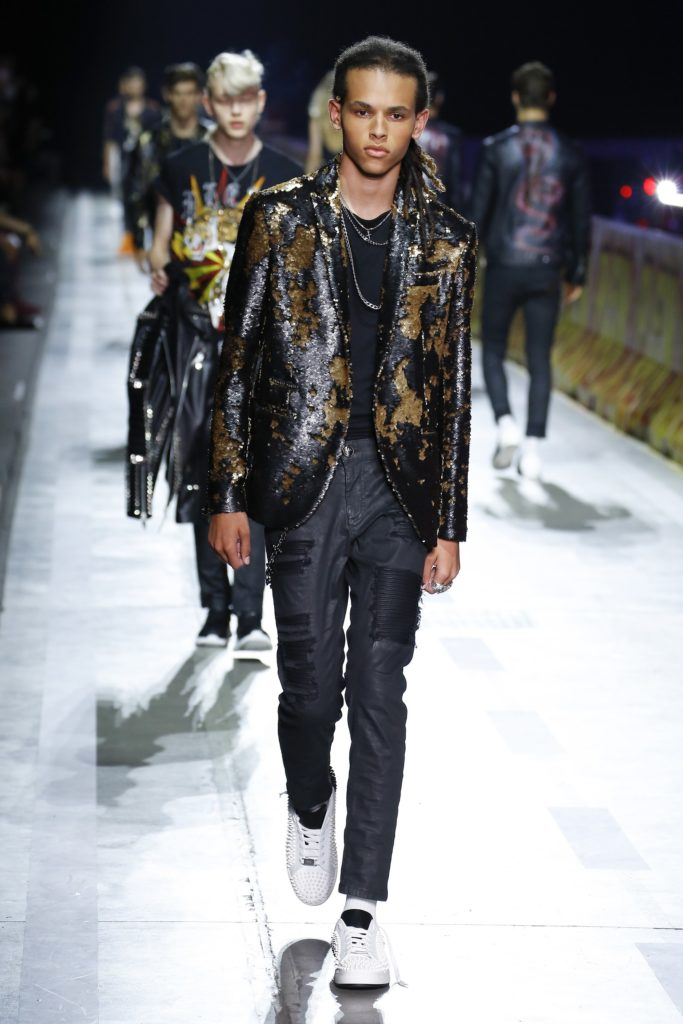 Philipp Plein Milan Fashion Week Men's Spring Summer 2018 - Sagaboi - Look 40
