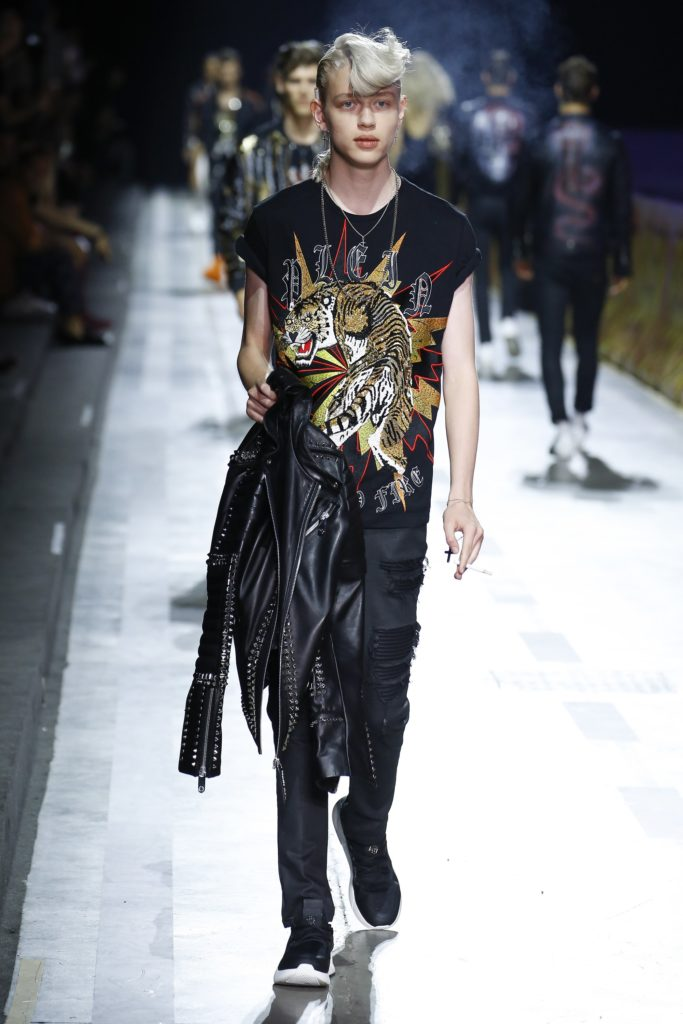 Philipp Plein Milan Fashion Week Men's Spring Summer 2018 - Sagaboi - Look 41