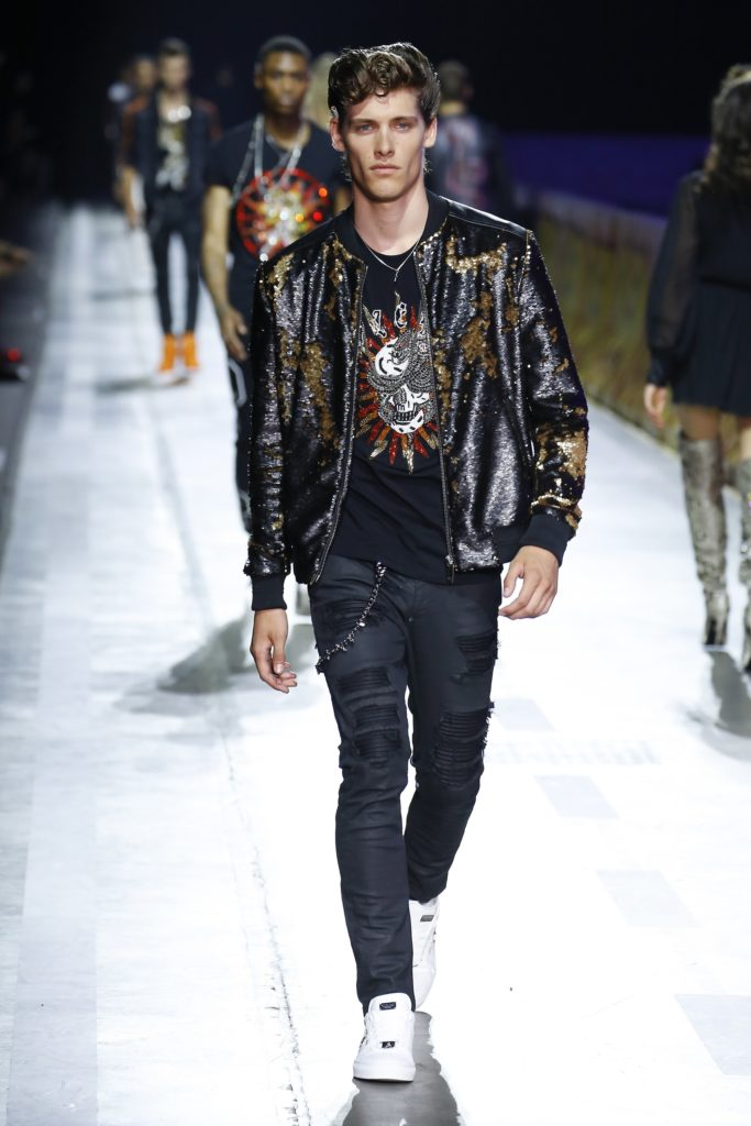 Philipp Plein Milan Fashion Week Men's Spring Summer 2018 - Sagaboi - Look 42