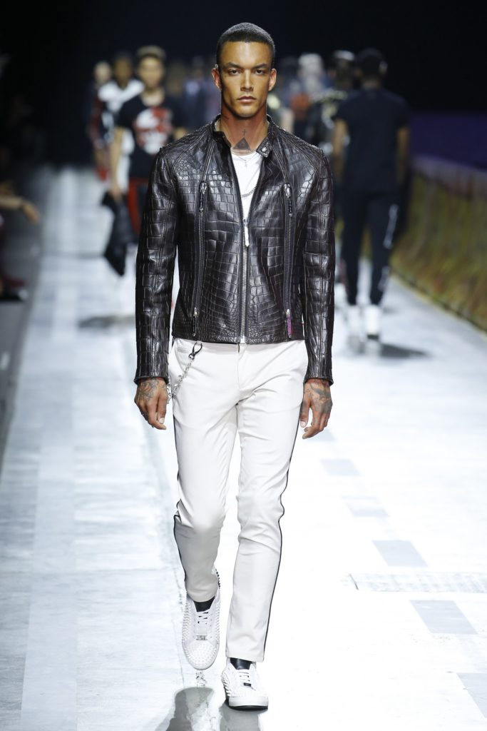 Philipp Plein Milan Fashion Week Men's Spring Summer 2018 - Sagaboi - Look 45