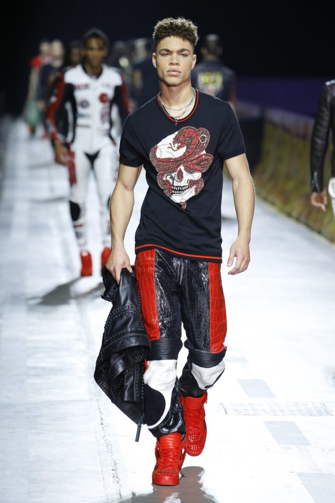Philipp Plein Milan Fashion Week Men's Spring Summer 2018 - Sagaboi - Look 46
