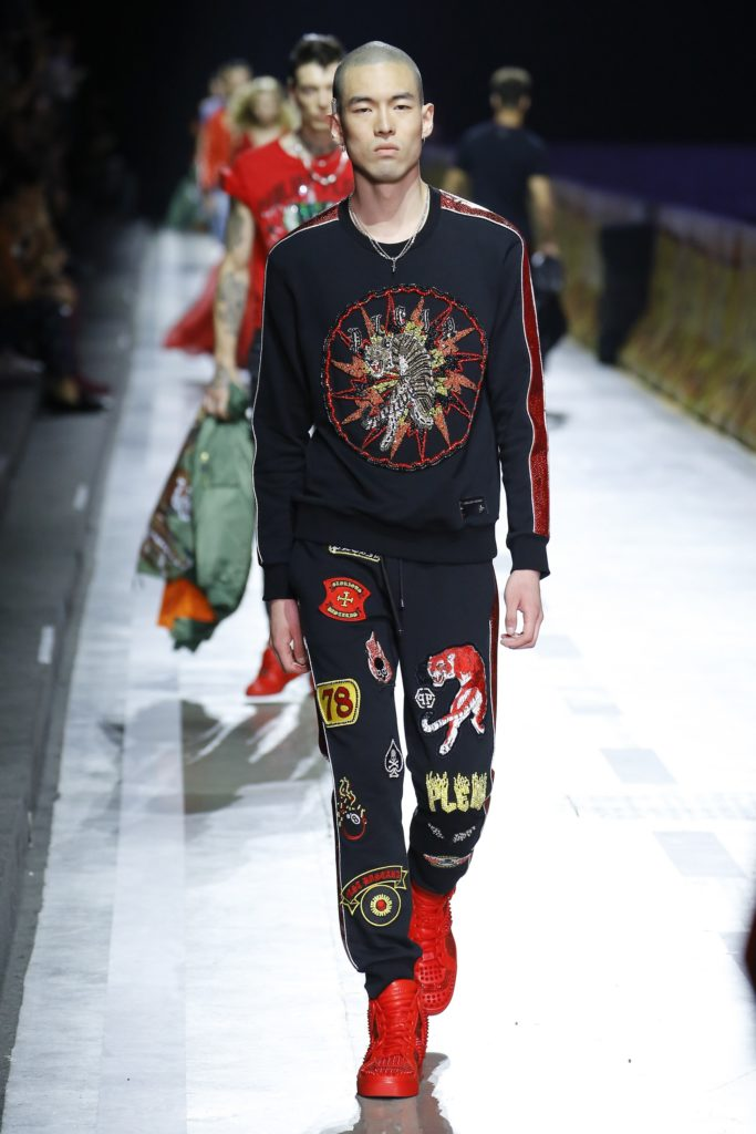 Philipp Plein Milan Fashion Week Men's Spring Summer 2018 - Sagaboi - Look 49