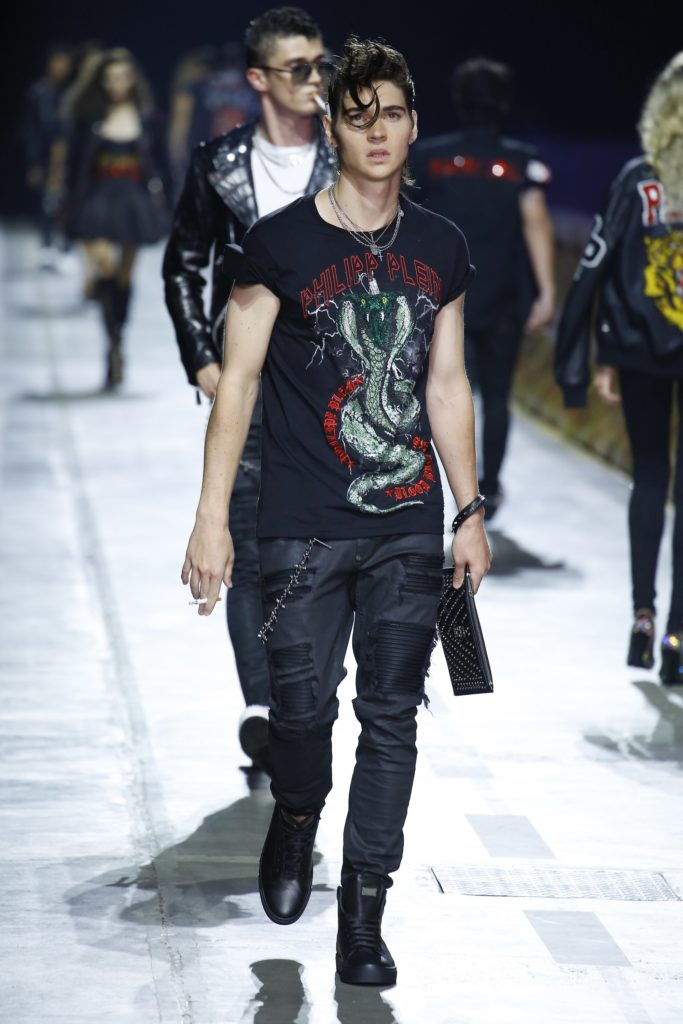 Philipp Plein Milan Fashion Week Men's Spring Summer 2018 - Sagaboi - Look 9