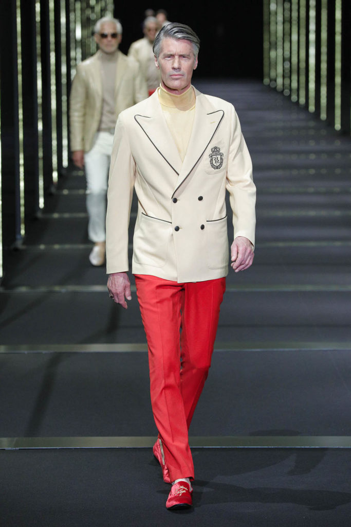 Billionaire Milan Fashion Week Men's Spring Summer 2018 - Sagaboi - Look 1
