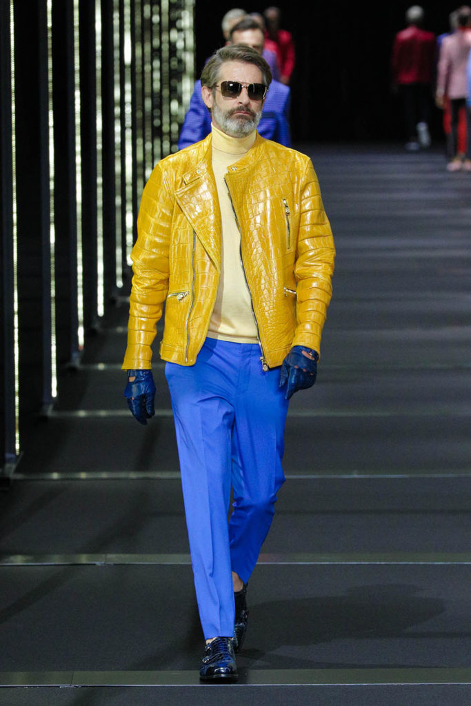 Billionaire Milan Fashion Week Men's Spring Summer 2018 - Sagaboi - Look 14